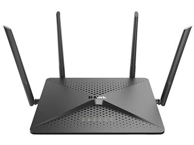 D-Link DIR-882  11ac 2600M无线路由器,四根高功率外置天线,5个千兆有线端口,支持千兆宽带接入USB3.0/USB2.0,信号增强,支持IPV6,支持波束成形、支持双频智能无线、支持D-Link Wi-Fi APP WAN:1*10/100/1000Mbps LAN:4*10/100/1000Mbps 2.4G 802.11b/g/n 800Mbps 5G 802.11a/n/ac 1732Mbps