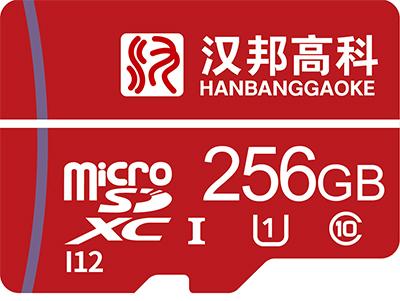 汉邦256GTF卡