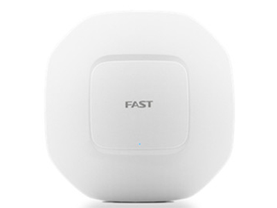 迅捷  FCAP1200GP 双频吸顶AP 千兆端口 吸顶式AP POE供电 胖瘦一体