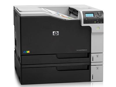 惠普M750dn复合机商用彩色激光A3打印机自动双面有线网络打印
