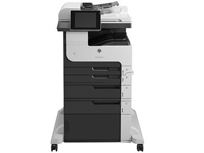 惠普M725z打印机A3黑白激光多功能一体打印机