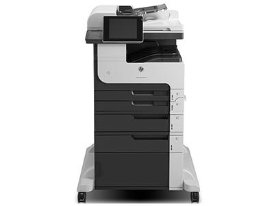 惠普M725f A3 打印黑白激光多功能复印扫描传真一体打印机