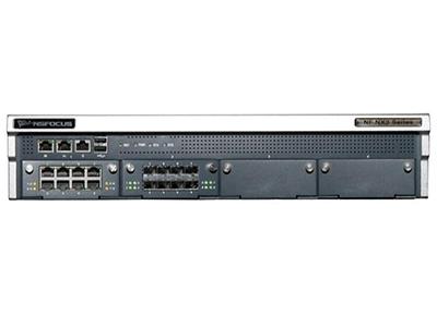 綠盟科技NF-NX3 Series G4100S-NDE-01  并發連接數:最大并發會話數:400萬  網絡吞吐量:三層吞吐量:14G  網絡端口:最高32個GE電口,最高32個SFP接口,4個SLOT插槽,最高支持16路BYPASS(只電口),2個GE管理接口,1個RJ45串口  控制端口:2個USB口  電源:交流冗余電源   外形設計:2U