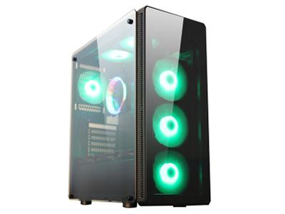 P30黑(全侧透)  五金尺寸:D440*W210*H510mm;USB标配:USB3.0*1,USB2.0*2