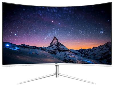 AOC C24V1H/WS  屏幕尺寸:23.6英寸 面板类型:VA 最佳分辨率:1920x1080 可视角度:178/178° 视频接口:D-Sub(VGA),HDMI 底座功能:倾斜:-5-23°