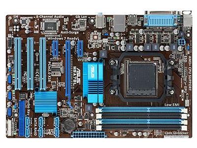 华硕M5A78L  主芯片组:AMD 760G/780L 音频芯片:集成Realtek ALC887 8声道音效芯片 内存类型:4×DDR3 DIMM 最大内存容量:16GB 主板板型:ATX板型 外形尺寸:30.5×20.3mm 电源插口:一个4针,一个24针电源接口