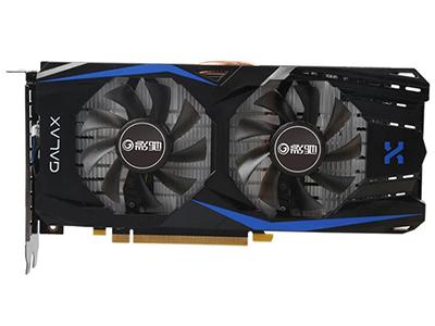 影驰GeForce GTX 1060 骁将X  显卡类型:主流级 显卡芯片:GeForce GTX 1060 核心频率:1518/1733MHz 显存频率:8000MHz 显存容量:6GB 显存位宽:192bit 电源接口:6pin