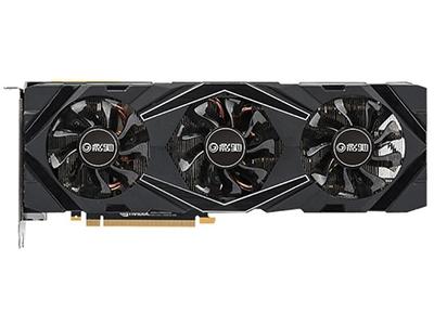 影驰GeForce RTX 2080 大将  显卡类型:发烧级 显卡芯片:GeForce RTX 2080 核心频率:1800MHz 显存频率:14000MHz 显存容量:8GB 显存位宽:256bit 电源接口:6pin+8pin