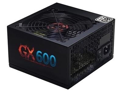 航嘉GX600  电源类型:台式机电源 出线类型:非模组电源 额定功率:600W 最大功率:600W 主板接口:20+4pin 硬盘接口:4个 PFC类型:主动式 转换效率:85\%