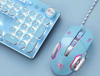 新盟m322蓝色鼠标