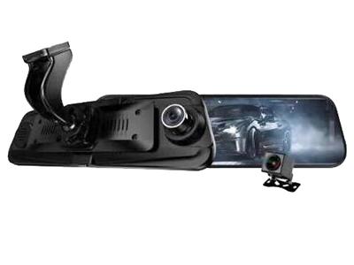 汽车宝贝AD800流媒体后视镜行车记录仪双镜头