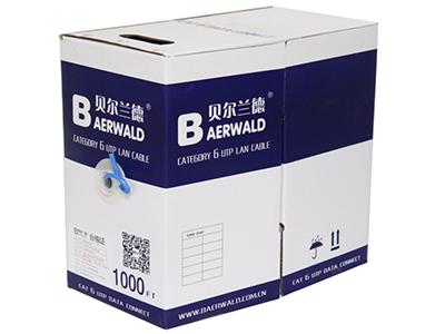 六类4对非屏蔽双绞线BLD4A-UC6(蓝色)