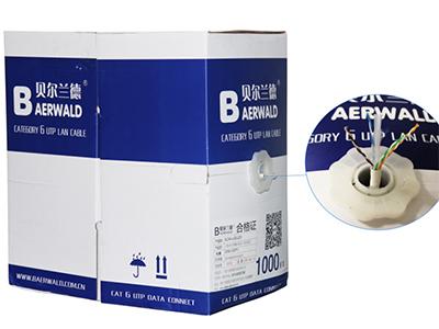 六类4对非屏蔽双绞线(低烟无卤)BLD4A-UC6-LSZH