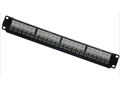超六类24口非屏蔽配线架BLDS24- UC6A