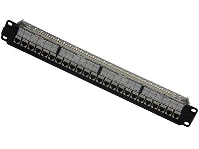 超六类24口屏蔽配线架,BLDS24- SC6A