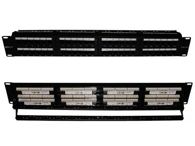 超五类48口非屏蔽配线架BLDP48- UC5E