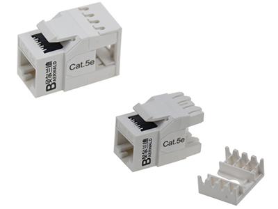 超五类非屏蔽信息模块(180度打线) BLDSO9-UC5E