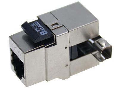 超五类屏蔽信息模块(180度免工具)  BLDM09- SC5E