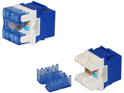 六类非屏蔽信息模块(180度打线)BLDM09-UC6