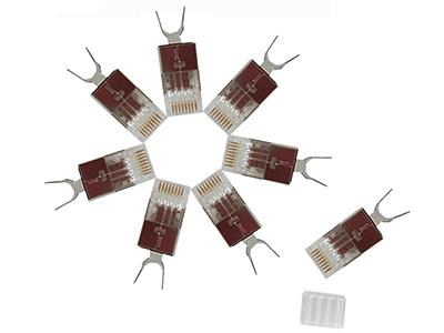 1超六类屏蔽RJ45接头BLD01-SC6A