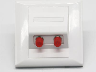 墙上型双孔FC光纤面板BLF33-2