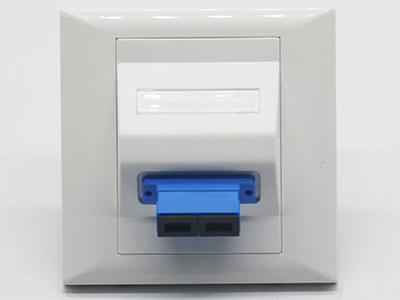 墙上型双孔SC光纤面板BLF22-2