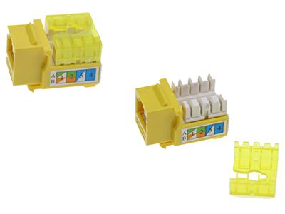 9超五类非屏蔽信息模块(90度打线)BLDM06-uc5e