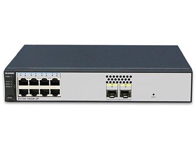华为 S1720-10GW-2P 8口全千兆企业级以太网络接入层交换机