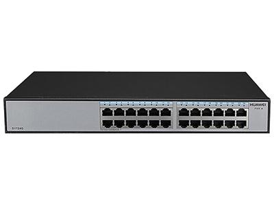 华为 S1724G-AC 24口全千兆企业级以太网络交换机