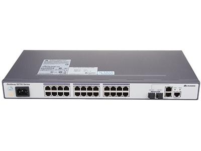 华为  S2700-26TP-EI-AC可网管二层24口百兆以太网智能接入交换机