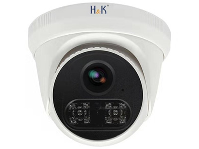 H&K 瀚康拾音半球(睿視) 像素:400W  鏡頭:4mm  補光:紅外  內置拾音器  方案:睿視  芯片:華為海思  可連接硬盤錄像機:H&K睿視、H&K天視通、海康威視