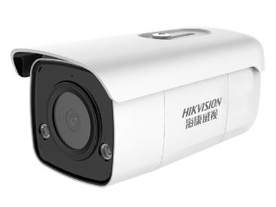 海康威視200W帶音頻POE智能警戒攝像機 200萬像素,最遠紅外50米