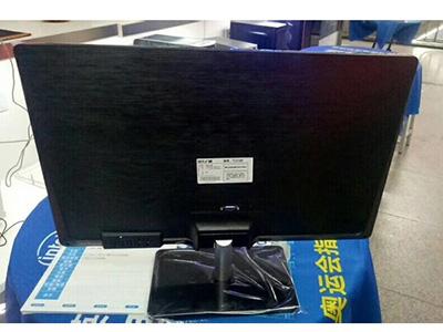 現代24寸顯示器黑色