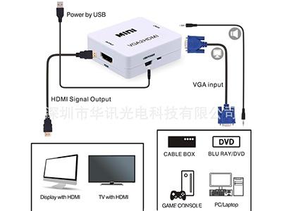 VGA轉HDMI 接頭