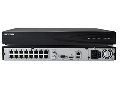 海康威视 DS-7816NB-K2/16P 16路网络监控录像机 H.265编码 手机远程