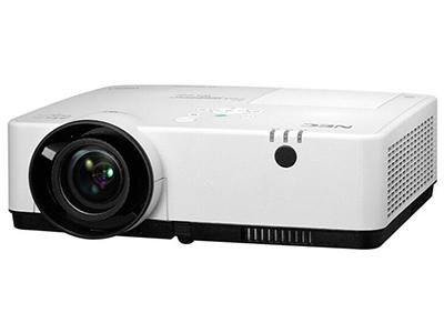 NEC NP-CR2200U  投影尺寸:30-300英寸 屏幕比例:16:10 投影技术:3LCD 亮度:4000流明 对比度:16000:1 标准分辨率:WUXGA(1920*1200) 色彩数目:1670万色
