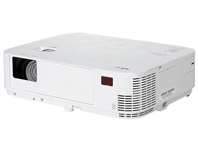 NEC M323H+  投影尺寸:30-300英寸 屏幕比例:16:9 投影技术:DLP 亮度:3200流明 对比度:8000:1 标准分辨率:1920*1080 色彩数目:10.7亿色
