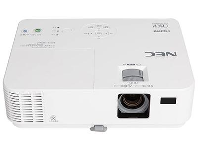 NEC V303H+  投影尺寸:40-300英寸 屏幕比例:16:9 投影技术:DLP 投影机特性:3D 亮度:3000流明 对比度:8000:1 标准分辨率:1080P(1920*1080) 色彩数目:10.7亿色