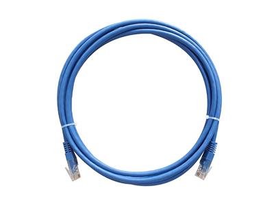 蓝色非屏蔽跳线