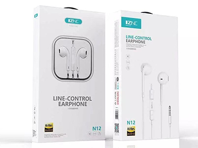 智能冲 N12 手机耳机 半入耳 可调节音量