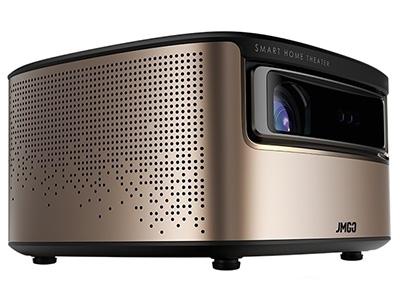 堅果V9 家庭智能影院 投影尺寸:40-300英寸  屏幕比例:16:9  投影技術:DLP  投影機特性:智能,3D