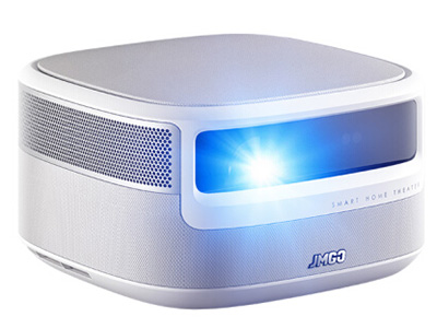 堅果 J9 投影儀家用 投影機(1080P真高清 遠場AI語音 1850ANSI流明 動態交互體驗 3D側投 運動補償)
