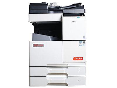 震旦  369S 复印机 36 ppm ,A6-A3,36ppm,网络打印、复印、网络彩色扫描,标配2048M内存,600*600dpi分辨率,电子分页,PCL6、PS3字体,标配1150张容量纸盒,标配双面器含双面进稿器,可实现十字交叉分组分套功能。