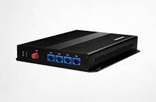 HJ-GAN101千兆隔離型多業務光端機(支持1-2個千兆,1-4個百兆物理隔離,同時支持視頻、電話、E1、開關量)