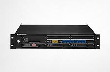 HJ-GAN202 千兆隔離型多業務光端機(1-2千兆、1-8百兆隔離、32個E1、32個電話、異步數據、音頻)