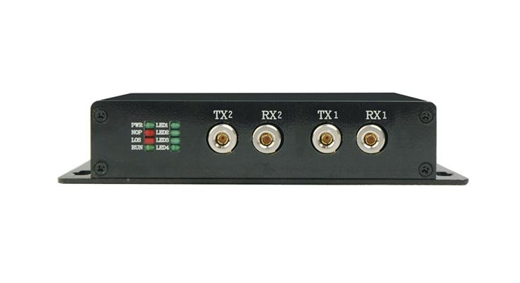 HJ-ICR08DE(實現E1接口與標準RS232/422/485接口之間的物理層轉換,為網絡中不同接口設備之間的通信提供安全、無縫連接。提供1~8路RS232/422/485異步數據接口,支持E1 1+1備份)