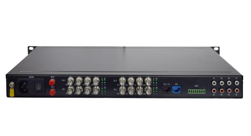 HJ-GAN-SDI04高清視頻光端機