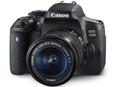 佳能  750D 18-55 单反相机 画幅:APS-C画幅分类:入门套头:单镜头套机像素:2000-2999万