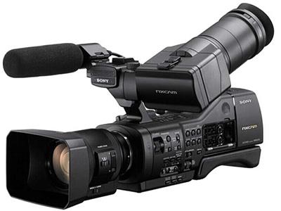 索尼  EA50CH 专业高清摄像机 存储介质:闪存式类型:高端专业机身容量:其他清晰度:HD高清功能:高音质像素:301-600万