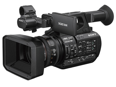索尼  Z190 专业高清摄像机 存储介质:闪存式类型:轻巧便携,高端专业,婚庆摄像机,直播摄像机,高速摄像机机身容量:其他清晰度:4K功能:超长续航像素:601万以上